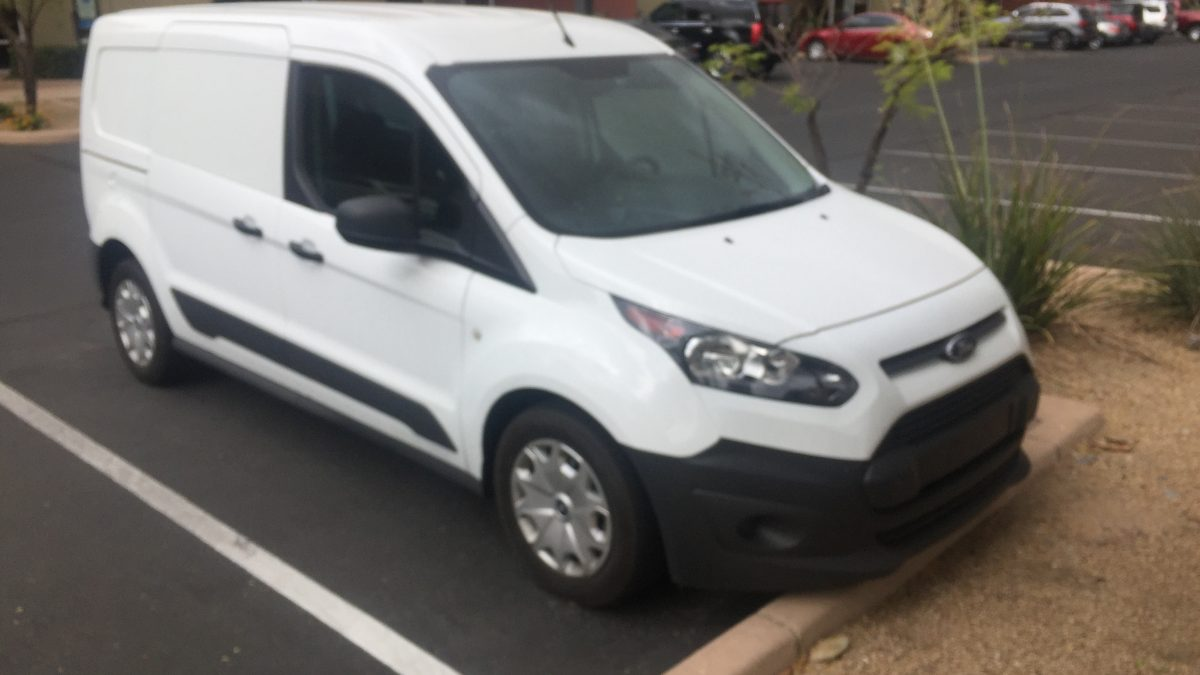 2017 Ford Transit Connect Cargo XL Van